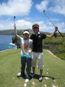 ゴルフ風景2