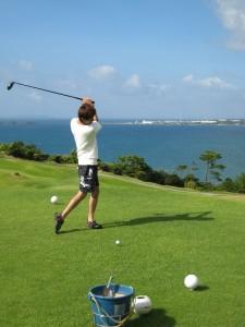 ゴルフ風景